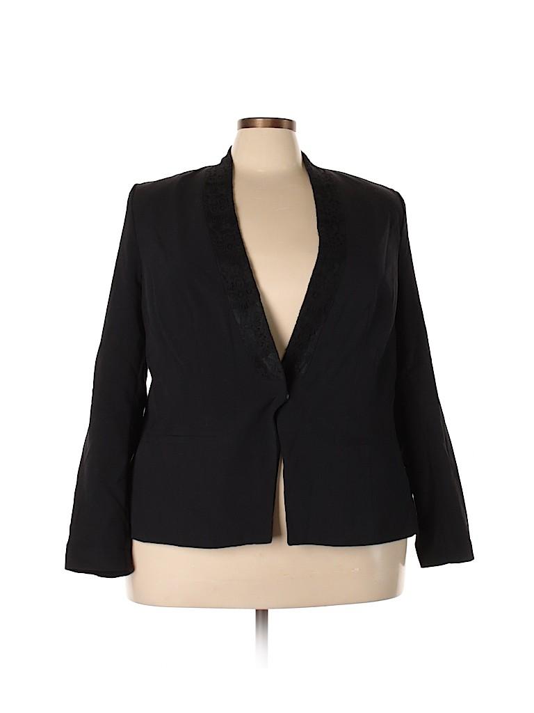 Lane Bryant Women Blazer Size 24 (Plus)