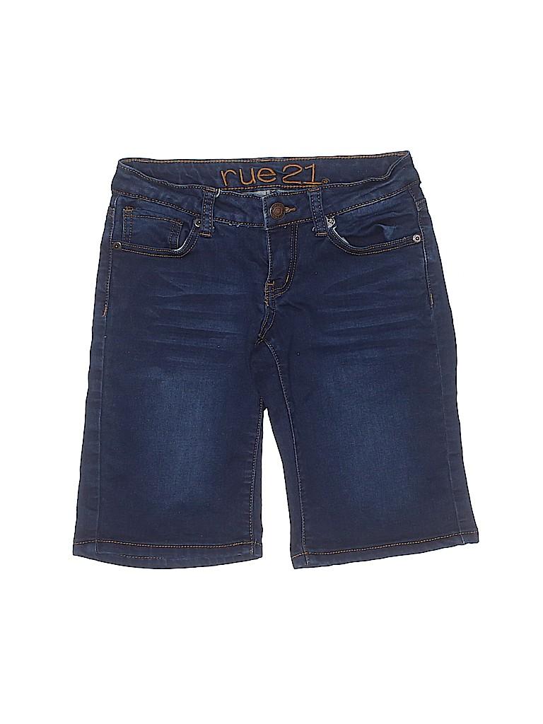 Rue21 Women Denim Shorts Size 0