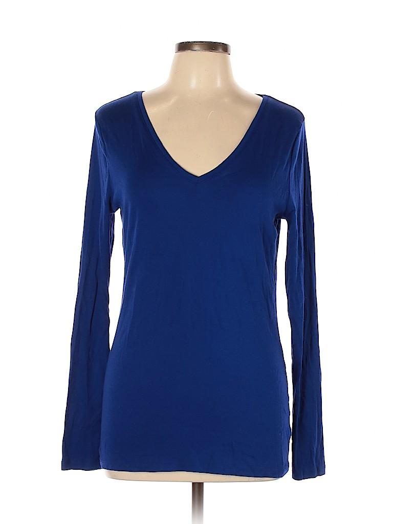 A New Day Women Long Sleeve T-Shirt Size XL