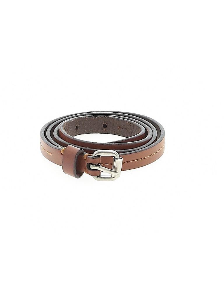 Unbranded Women Leather Belt Size Sm - Med