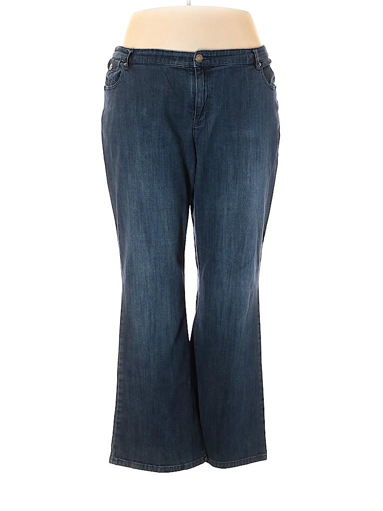 Liz & Co Women Jeans Size 22W (Plus)