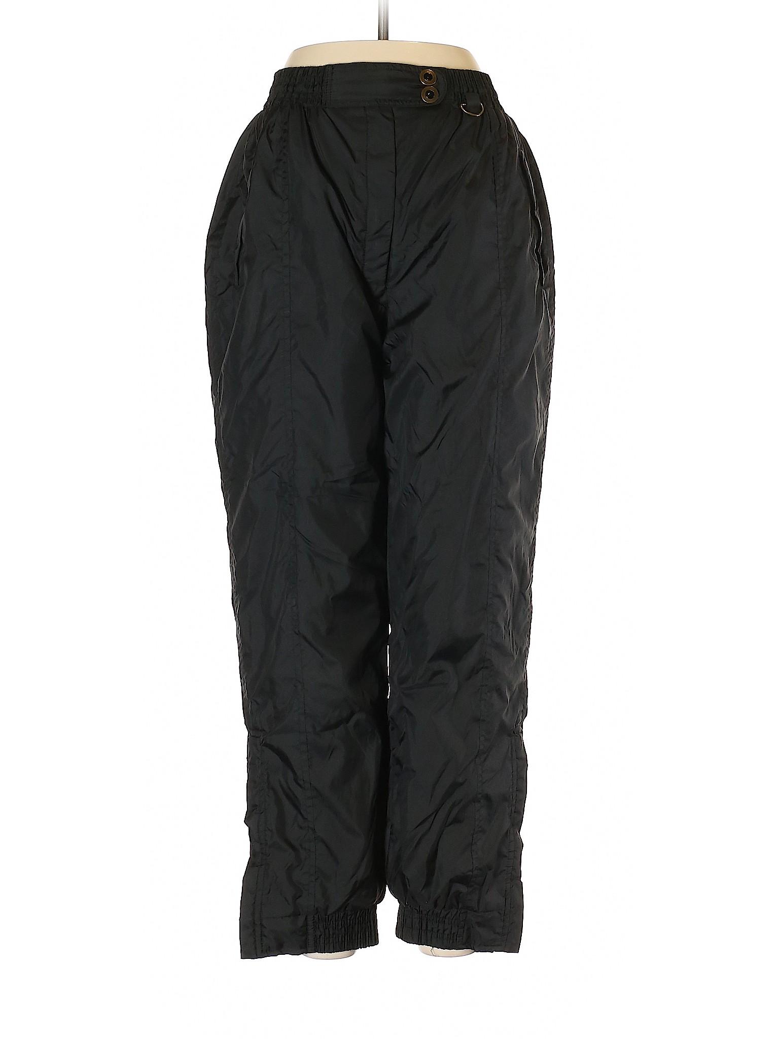729381b52 Details about Hunt Club Women Black Snow Pants Med Petite