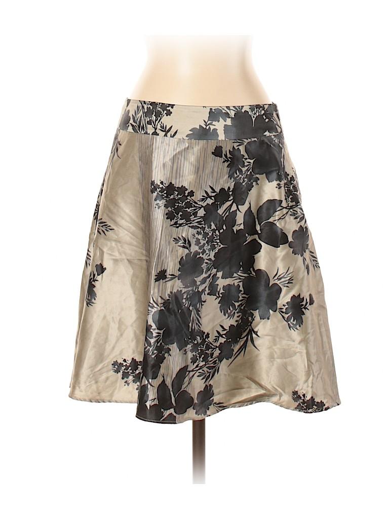 Banana Republic Factory Store Women Silk Skirt Size 2