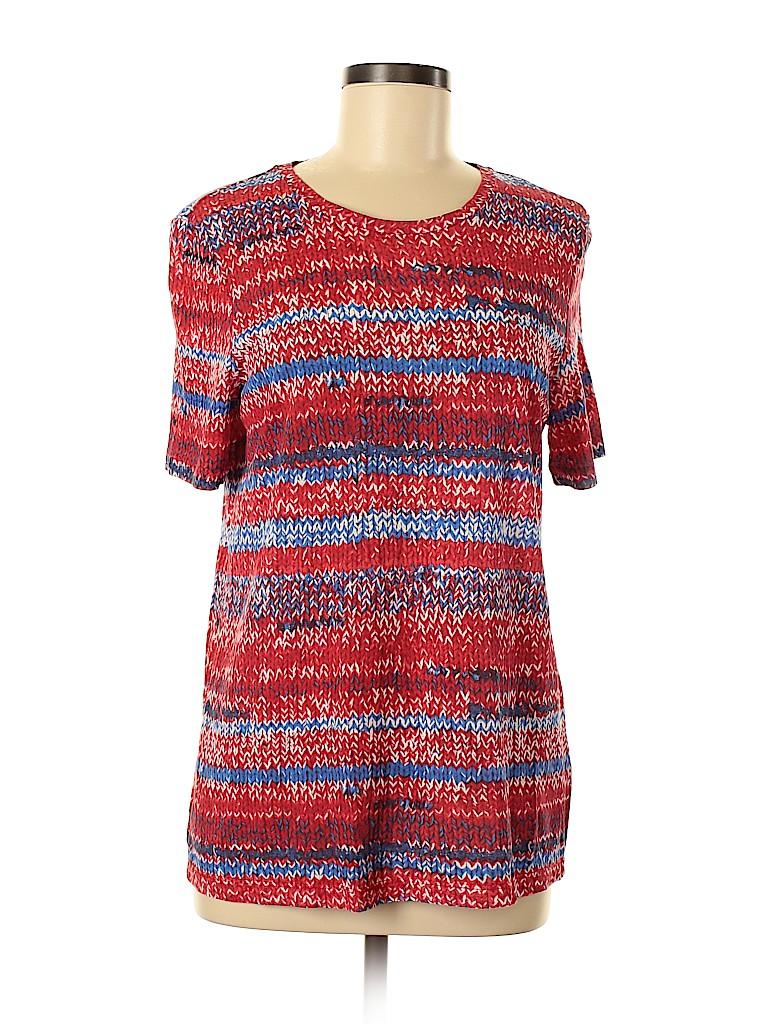 Tory Burch Women Short Sleeve T-Shirt Size M