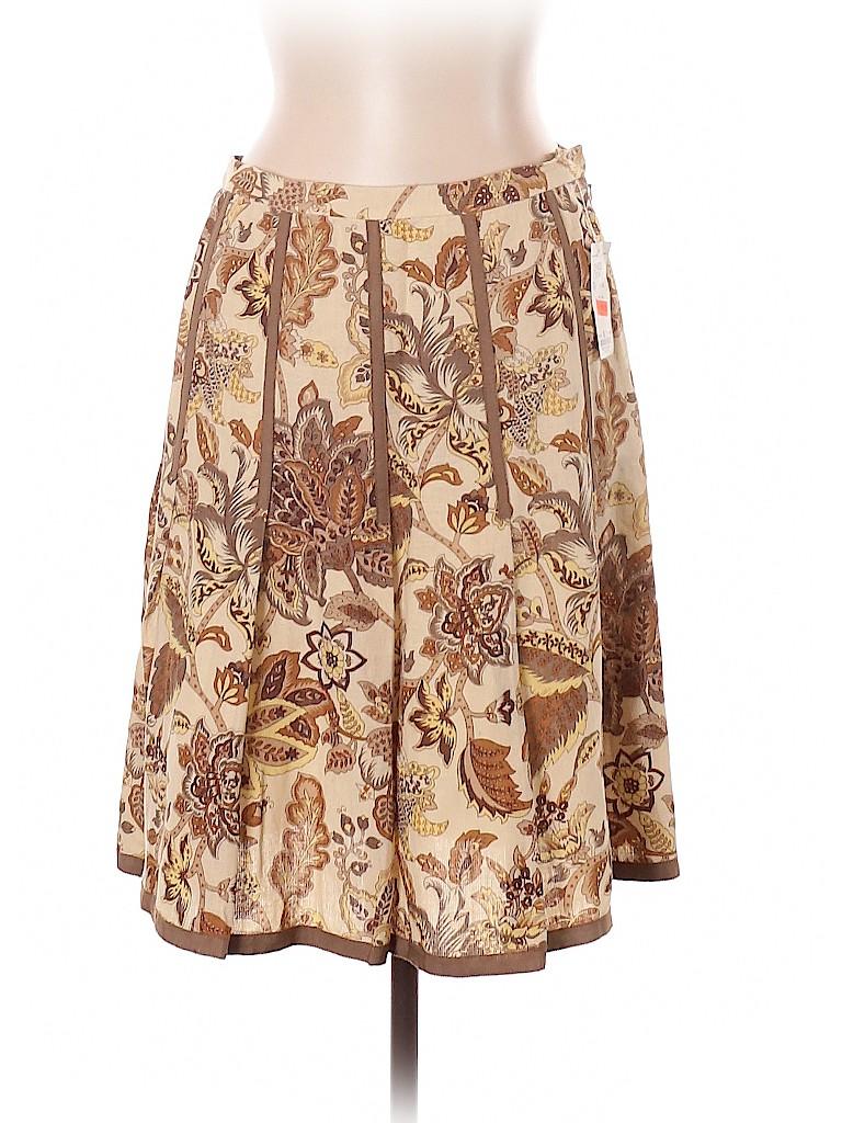 Etcetera Women Silk Skirt Size 10
