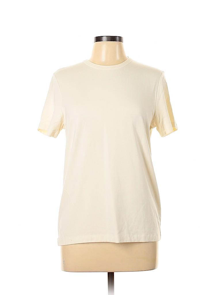 Jones New York Women Short Sleeve T-Shirt Size L