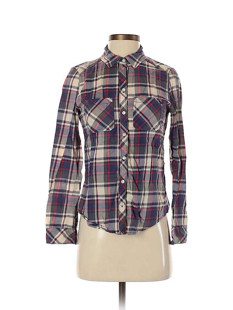 BP. Women Long Sleeve Button-Down Shirt Size XS