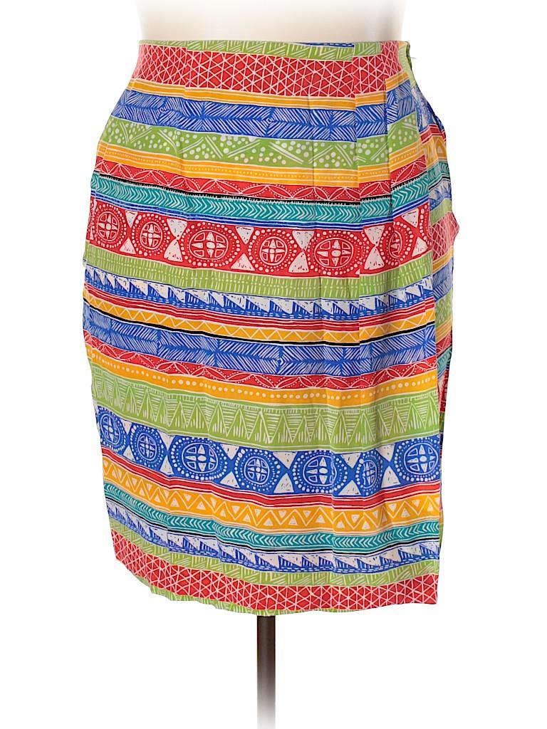 SK & Company Women Silk Skirt Size 16W