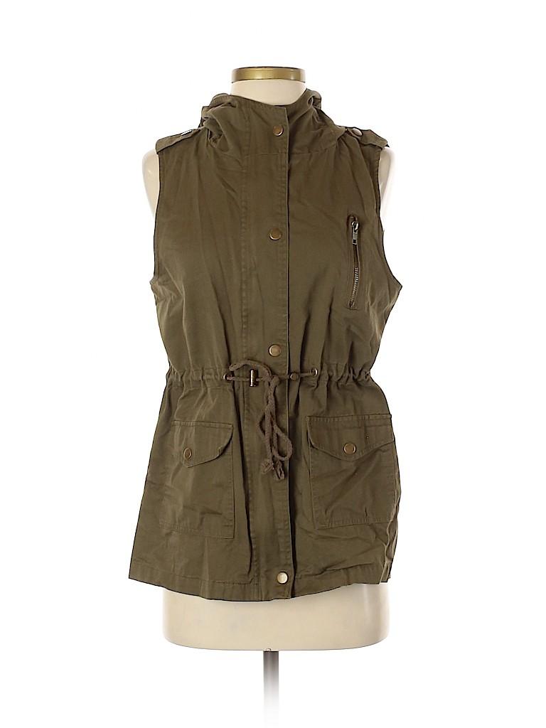 Zenana Outfitters Women Vest Size S