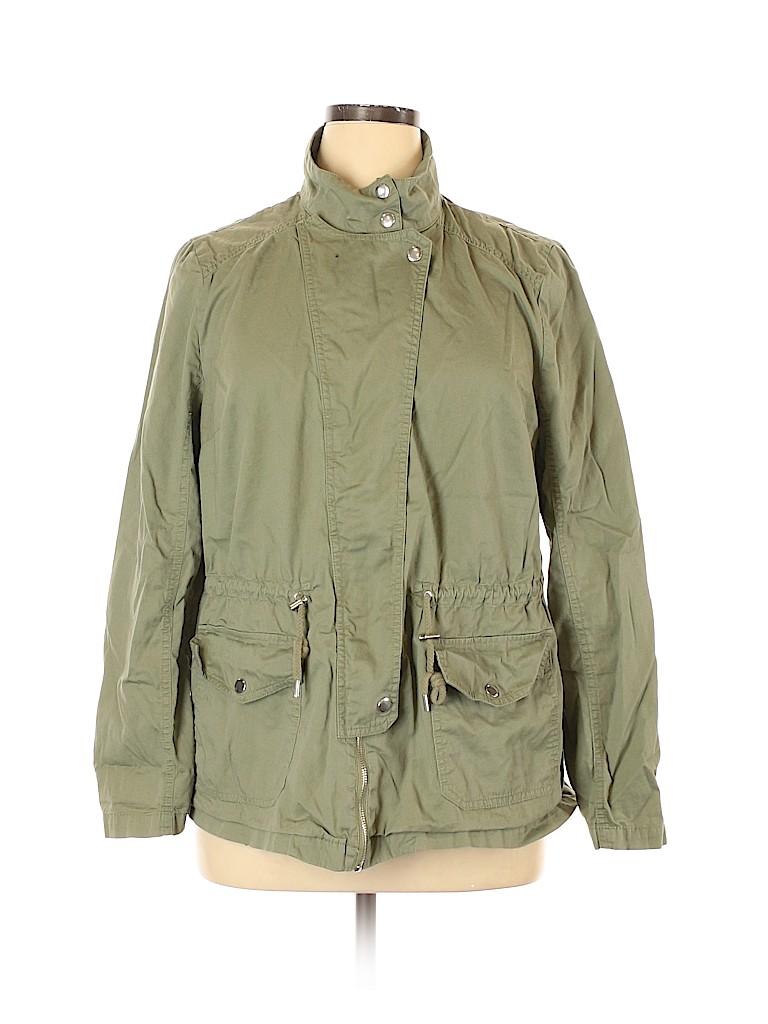 Ava & Viv Women Jacket Size 1X (Plus)
