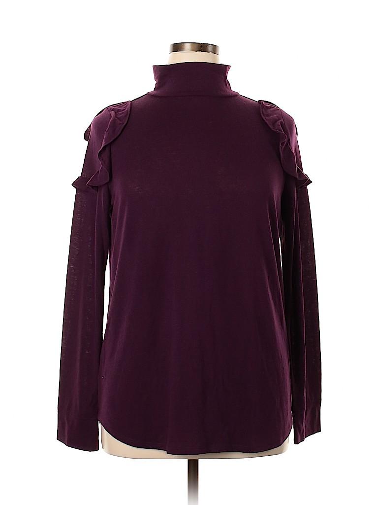 Ann Taylor LOFT Women Long Sleeve Top Size XL