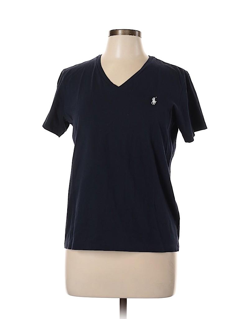 Ralph Lauren Sport Women Short Sleeve T-Shirt Size L