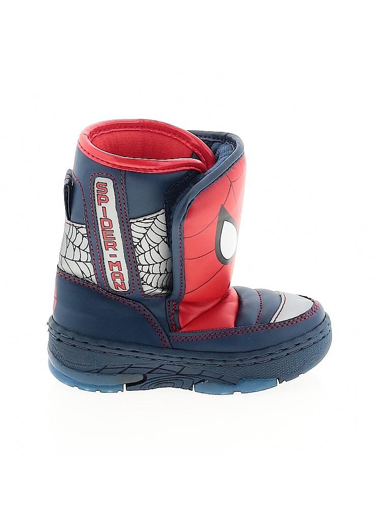 Spiderman Boys Boots Size 7