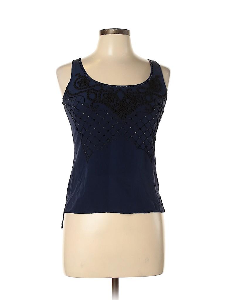 Karen Millen Women Sleeveless Silk Top Size 4