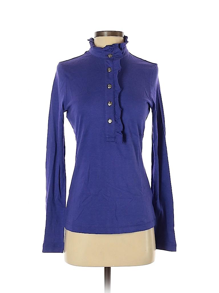 Tory Burch Women Long Sleeve Top Size S