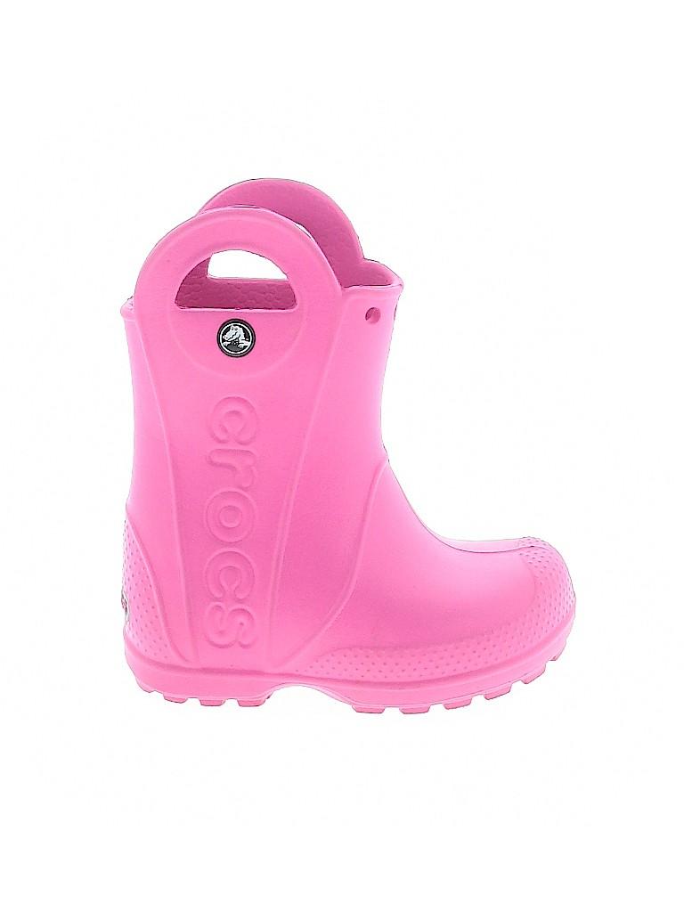 Crocs Girls Rain Boots Size 6