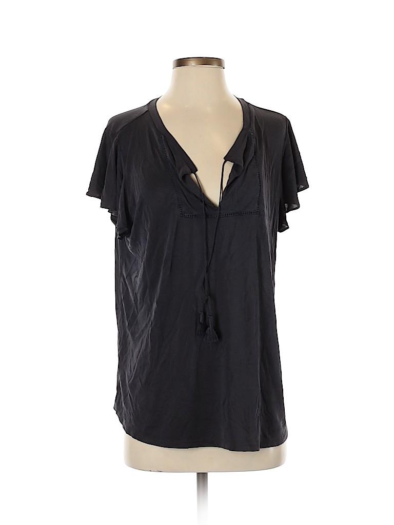 Ann Taylor LOFT Women Short Sleeve Top Size L