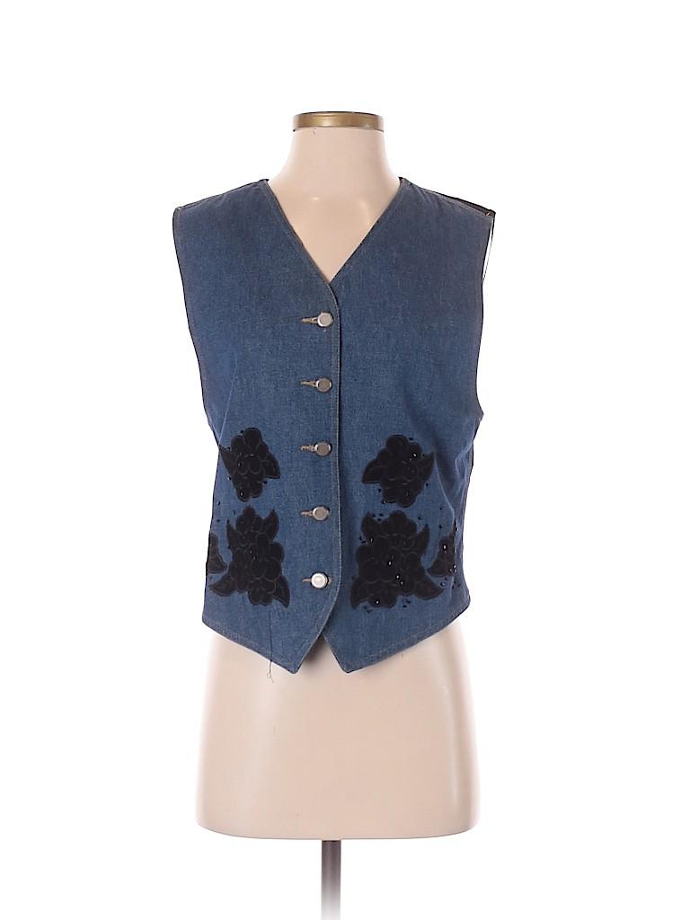 Lizwear by Liz Claiborne Women Vest Size S