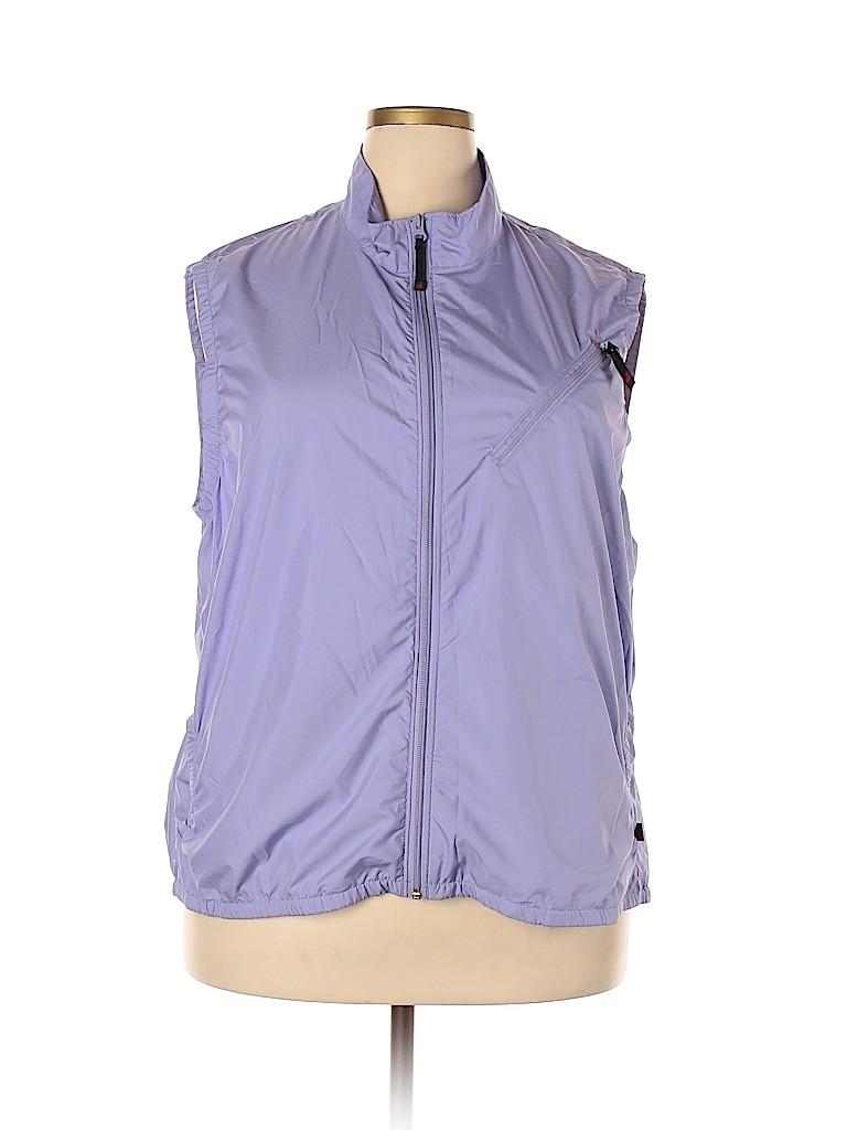Woolrich Women Vest Size 2X (Plus)
