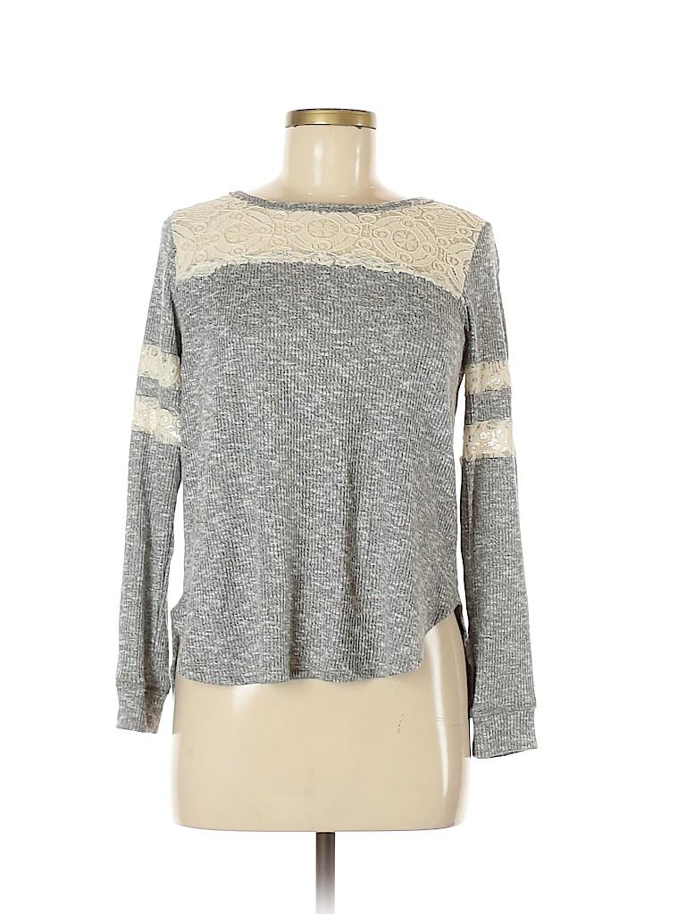 Rewind Women Pullover Sweater Size L