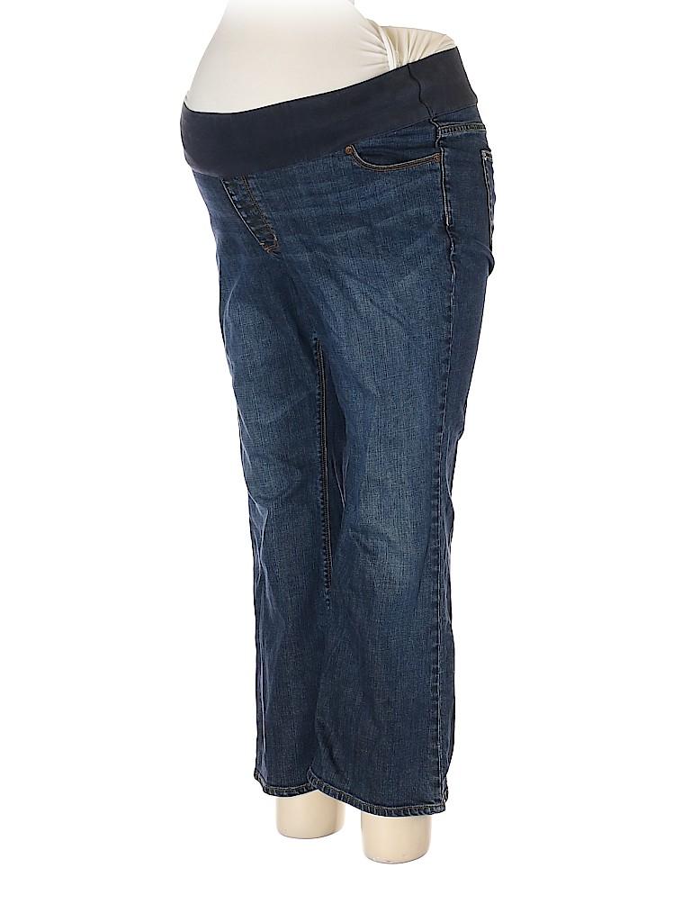 Gap - Maternity Women Jeans Size 16 (Maternity)