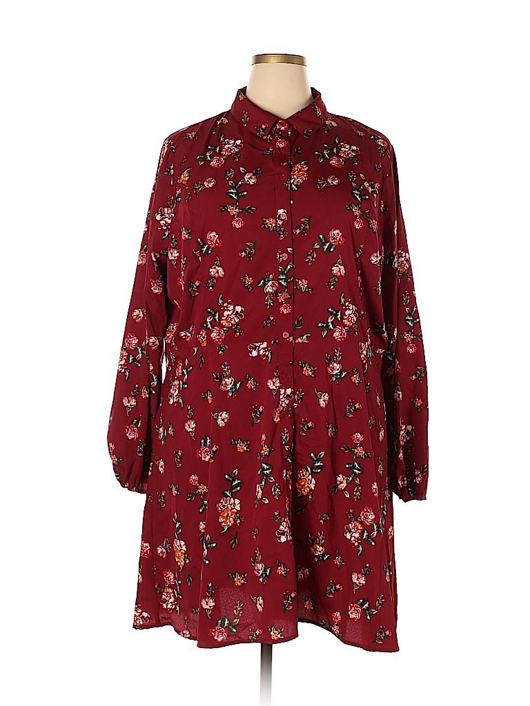 Influence Women Casual Dress Size 24 (Plus)