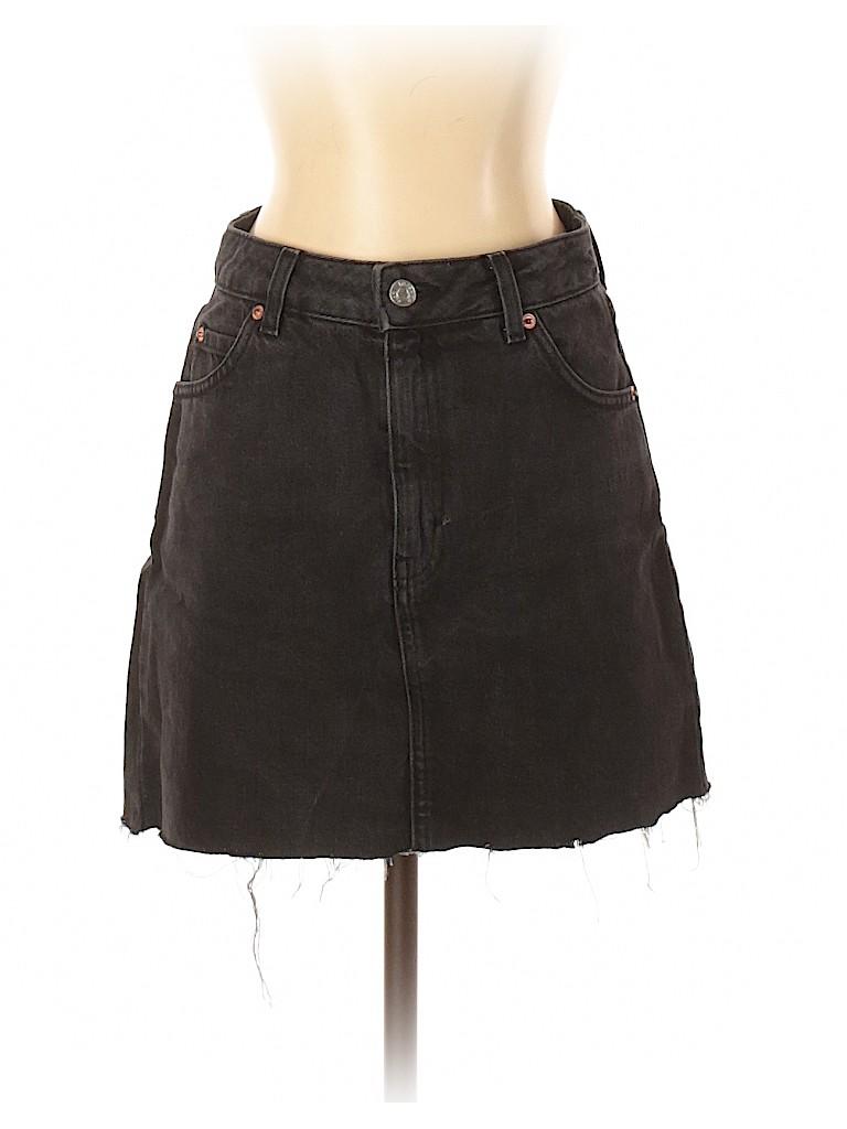 Topshop Women Denim Skirt Size 4