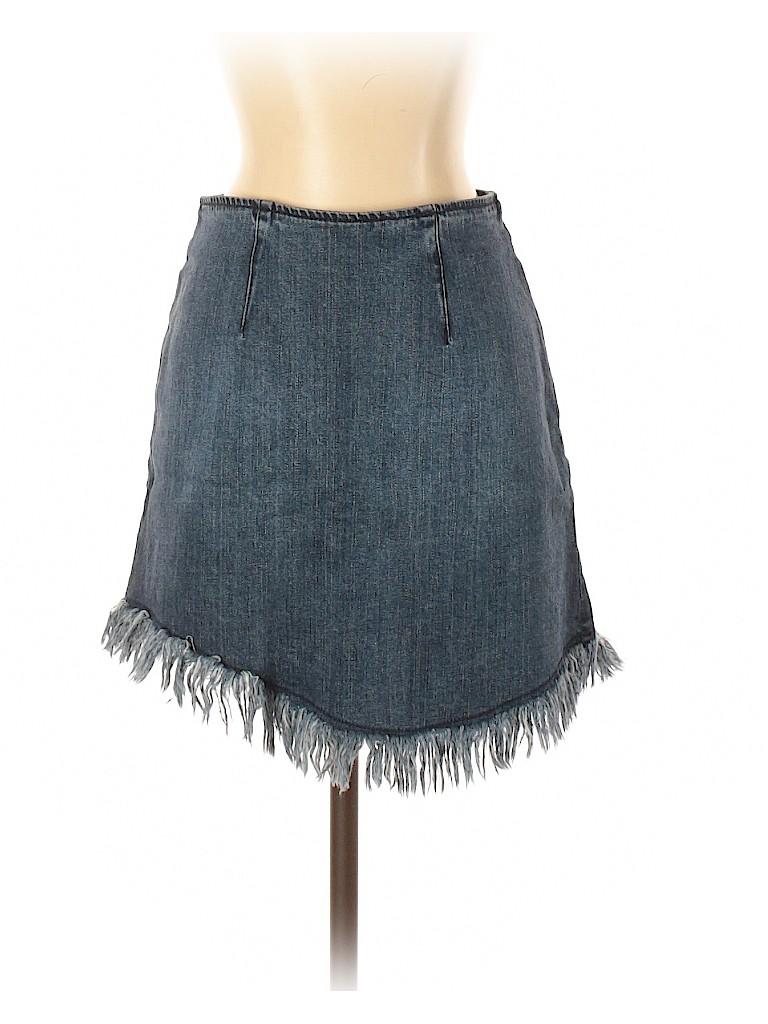 Kendall & Kylie Women Denim Skirt Size S