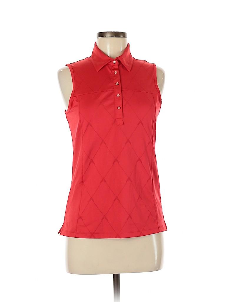 Callaway Women Short Sleeve Polo Size M