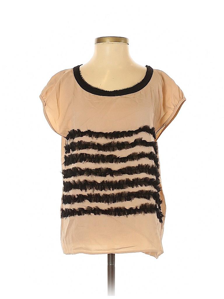Mcginn Women Short Sleeve Blouse Size 4