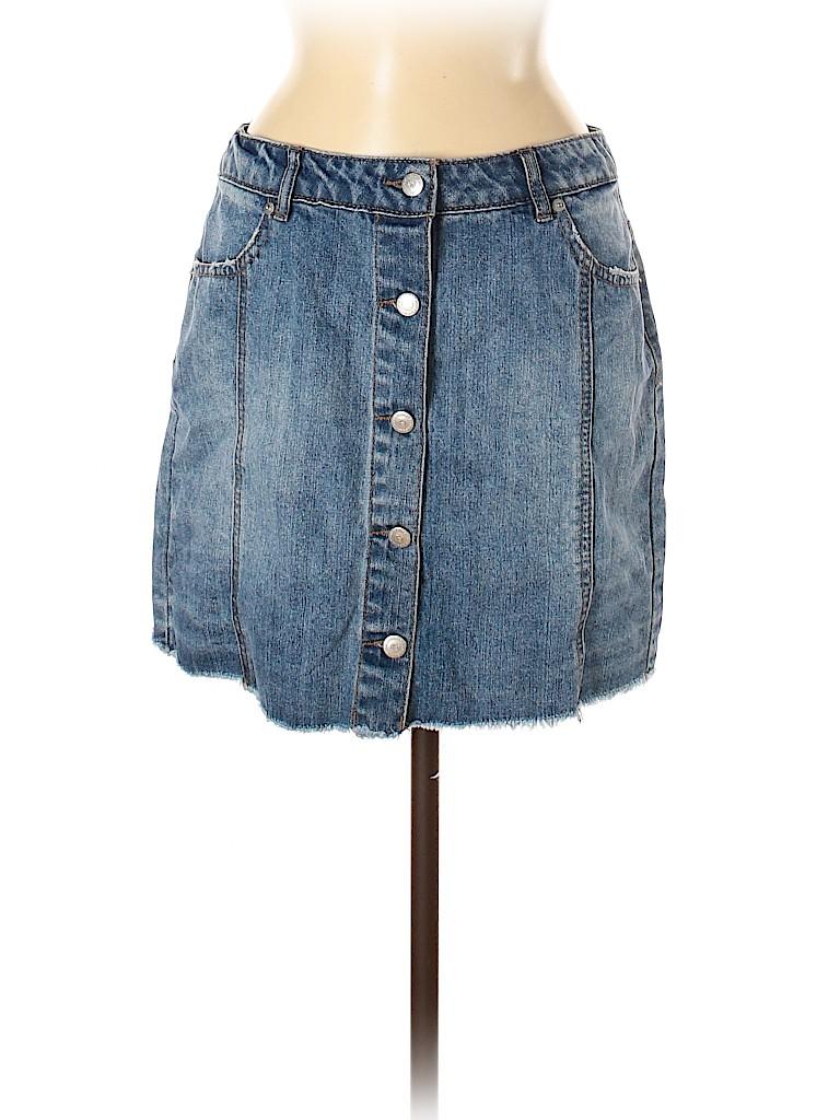 Highway Jeans Women Denim Skirt Size 7 - 8