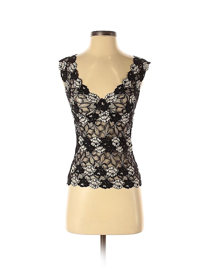Josie Natori Women Sleeveless Top Size S
