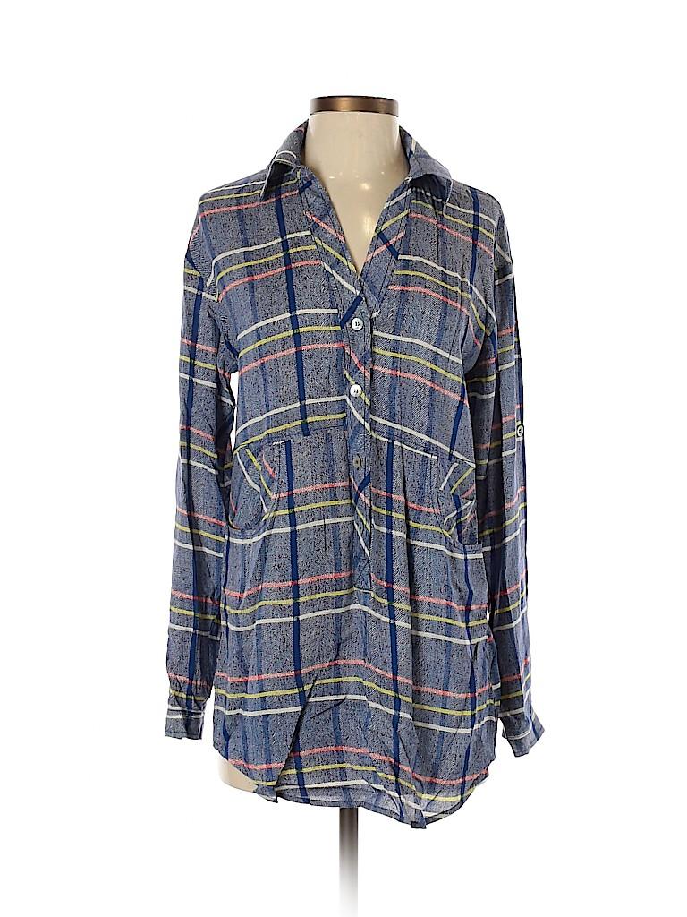 Plenty By Tracy Reese Women Long Sleeve Blouse Size XS