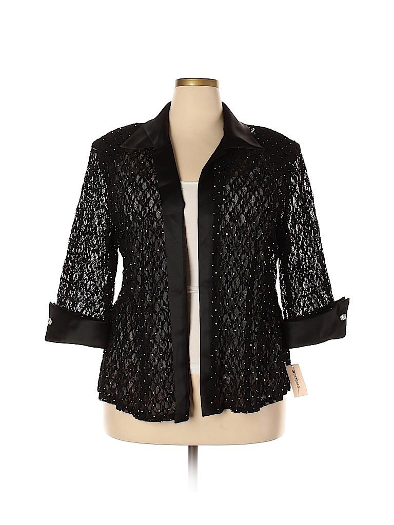 DressBarn Women Jacket Size 22 (Plus)
