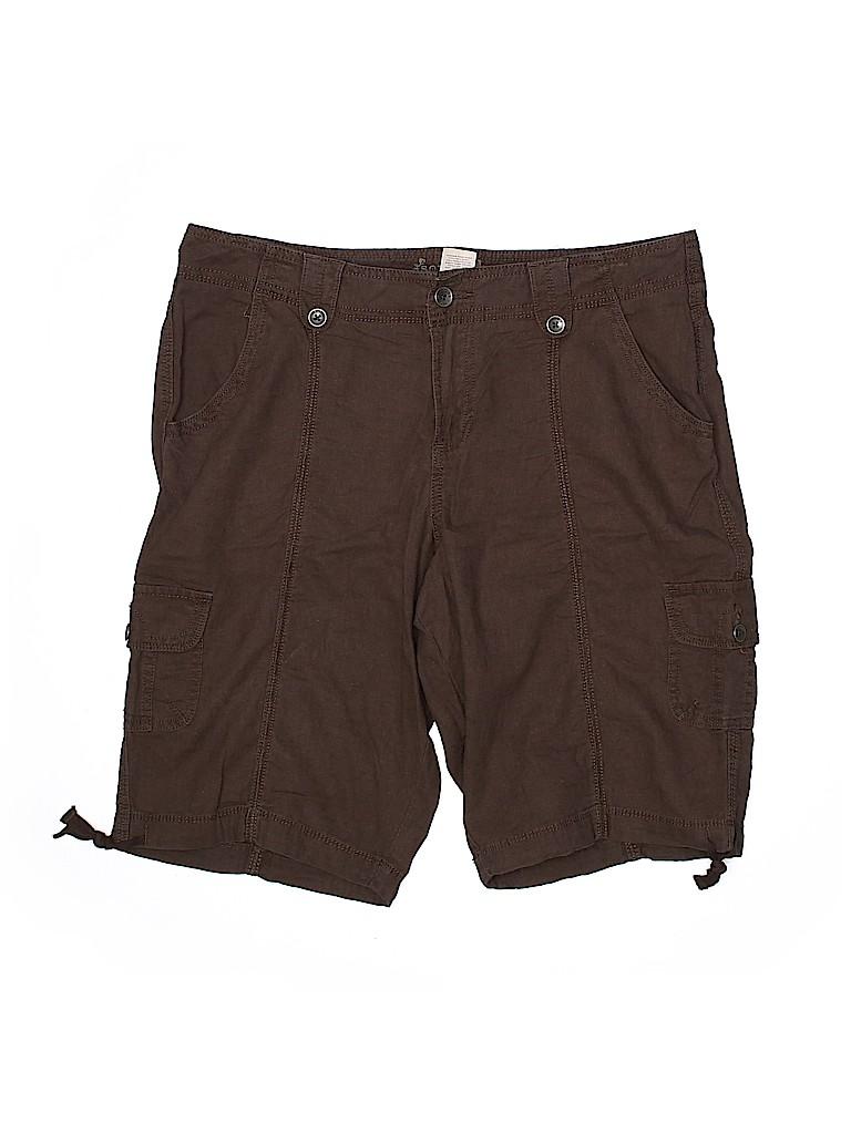 SONOMA life + style Women Cargo Shorts Size 14