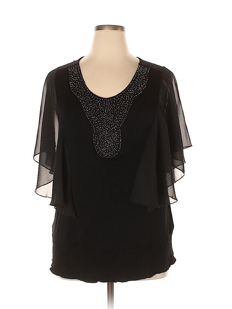 DressBarn Women 3/4 Sleeve Top Size 14 - 16