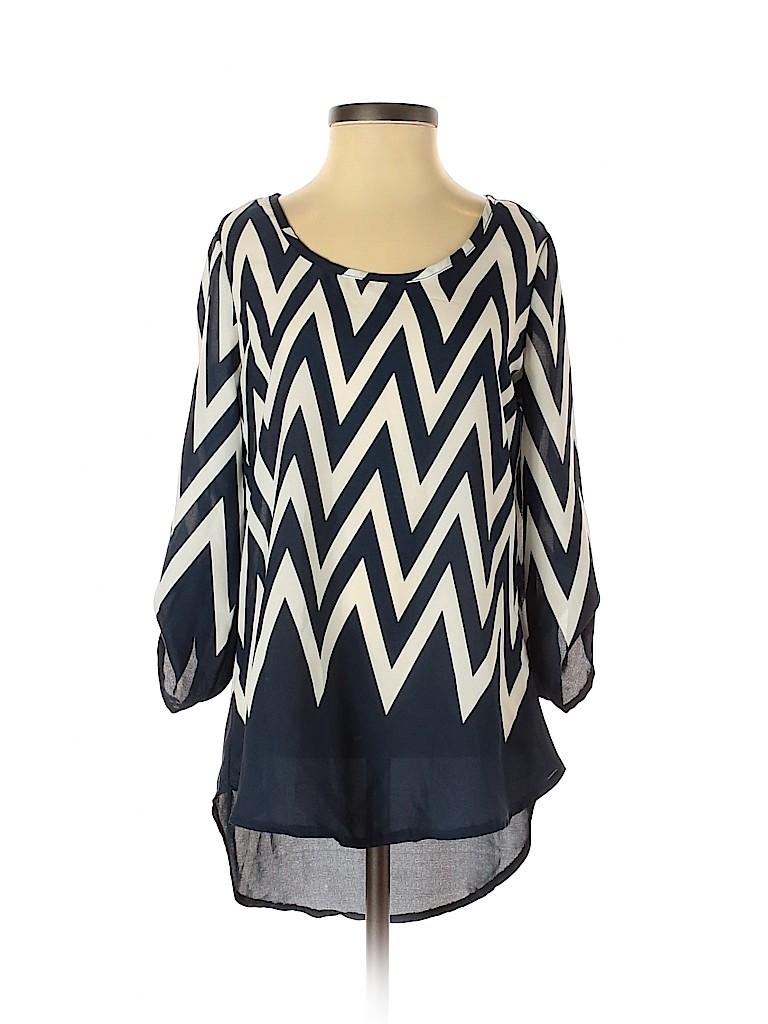 Rue21 Women 3/4 Sleeve Blouse Size XS