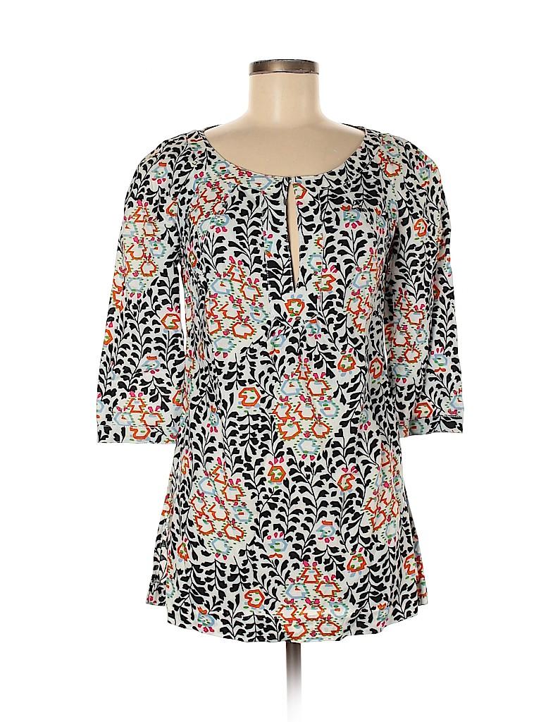 Tory Burch Women 3/4 Sleeve Blouse Size 6