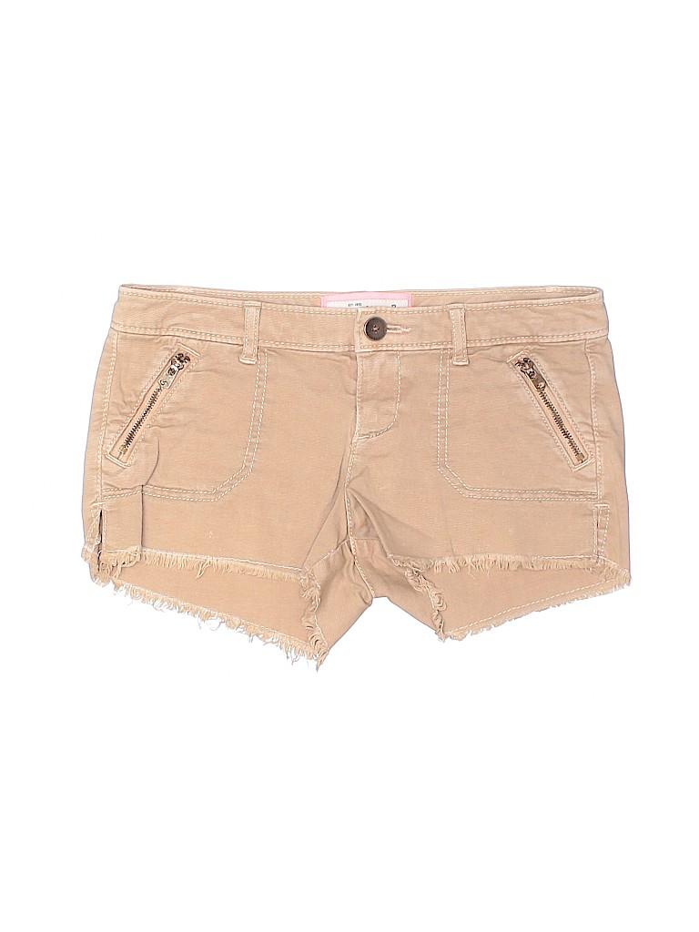 Abercrombie & Fitch Girls Khaki Shorts Size 12