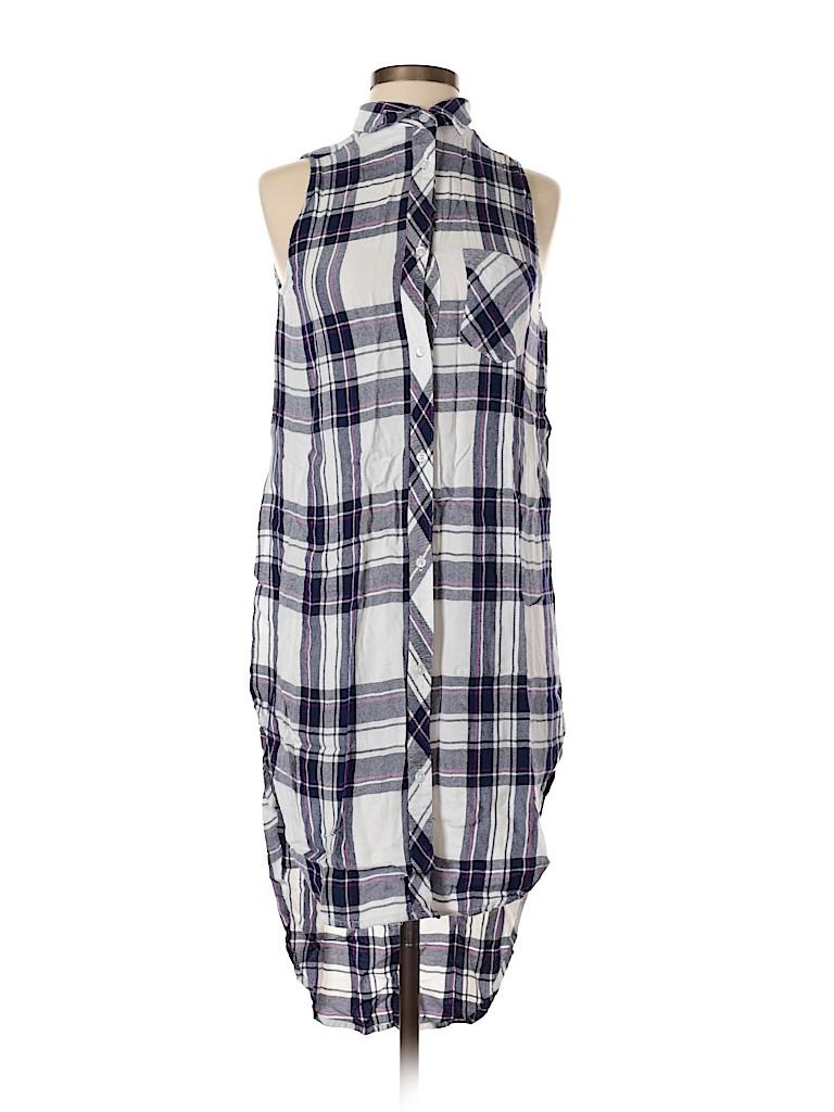 Rails Women Sleeveless Button-Down Shirt Size XS