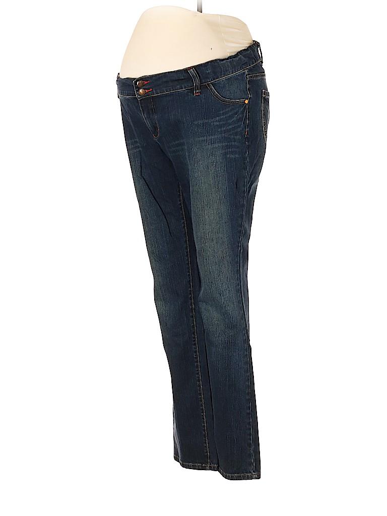 Liz Lange Maternity for Target Women Jeans Size 10 (Maternity)