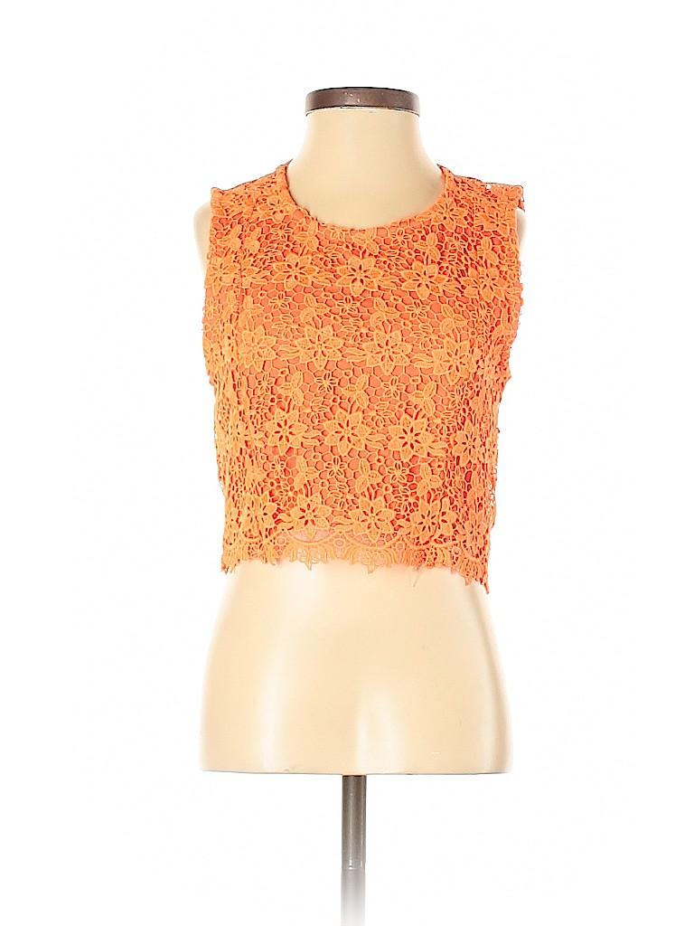 Topshop Women Sleeveless Blouse Size 0