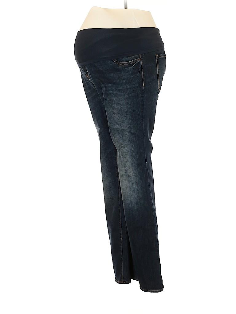 Old Navy - Maternity Women Jeans Size 14 (Maternity)