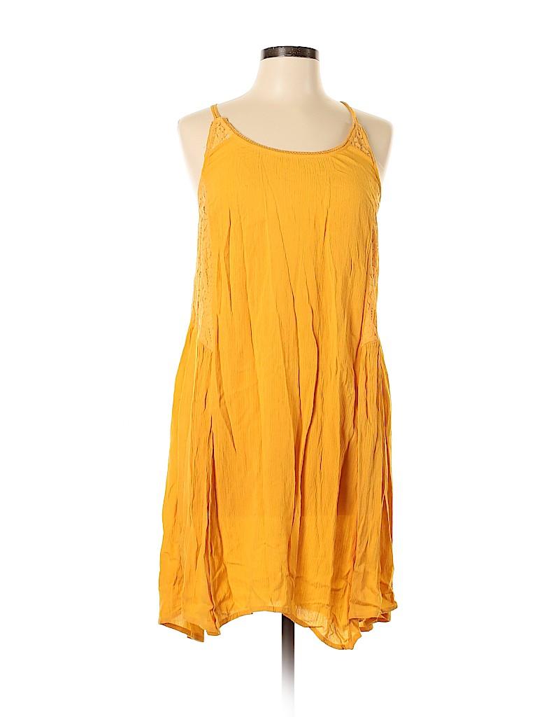 Xhilaration Women Casual Dress Size L