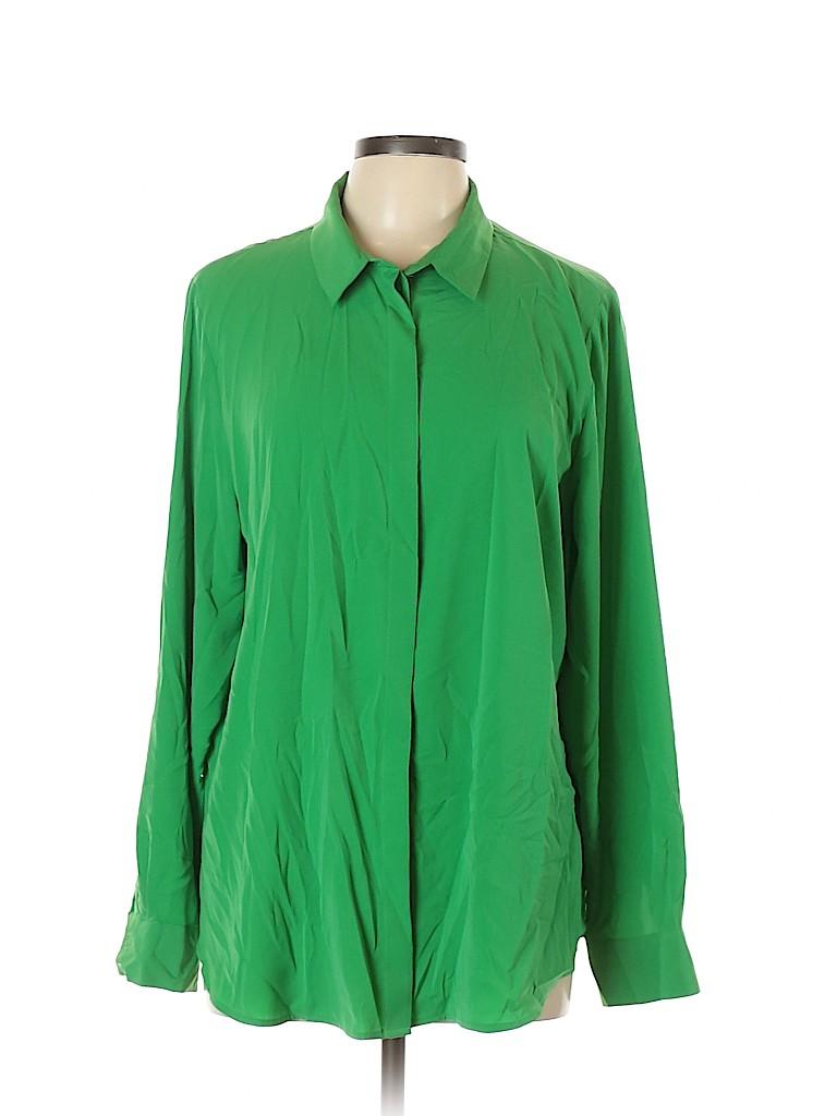 H&M Women Long Sleeve Blouse Size 16