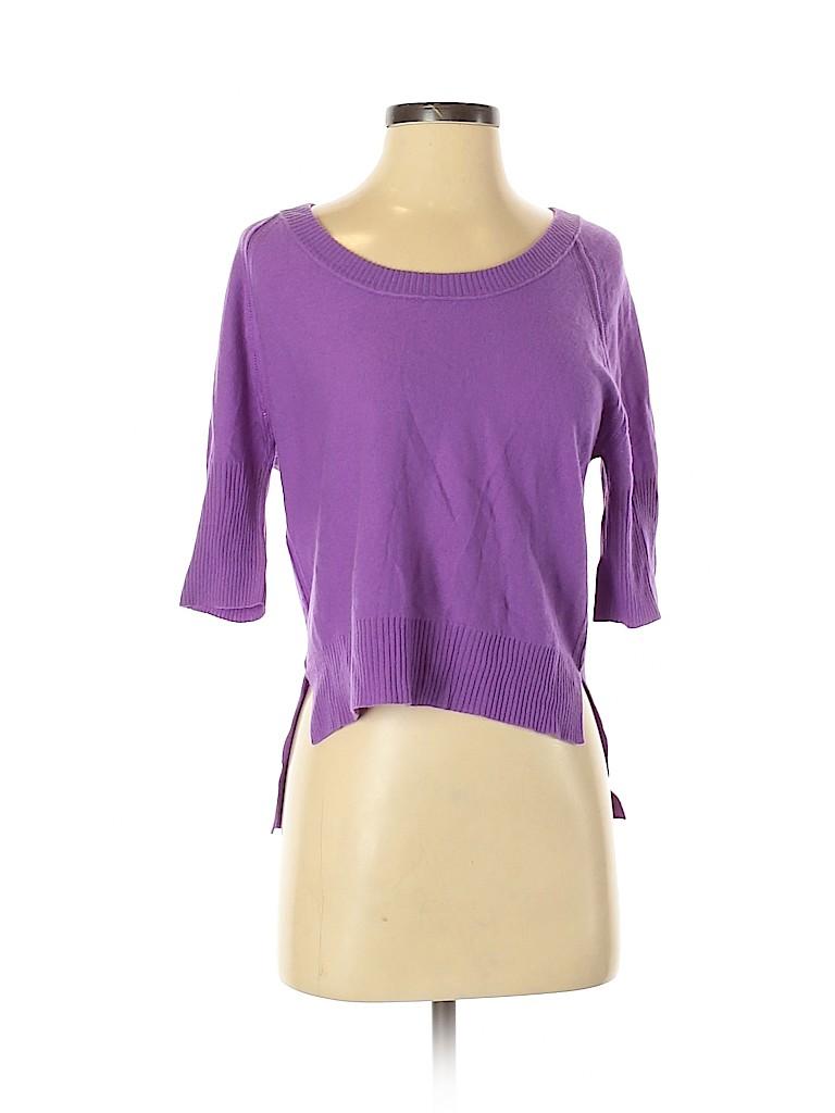 Autumn Cashmere Women Cashmere Pullover Sweater Size XS