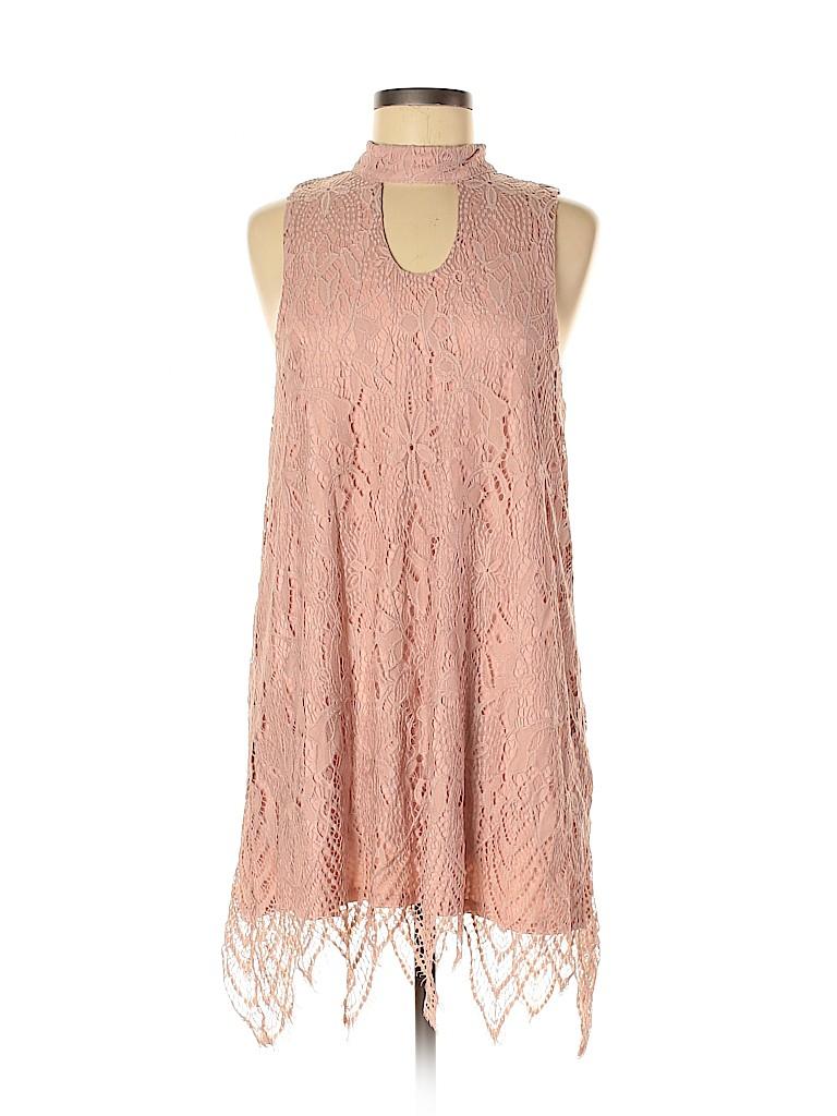 Love, Fire Women Casual Dress Size L