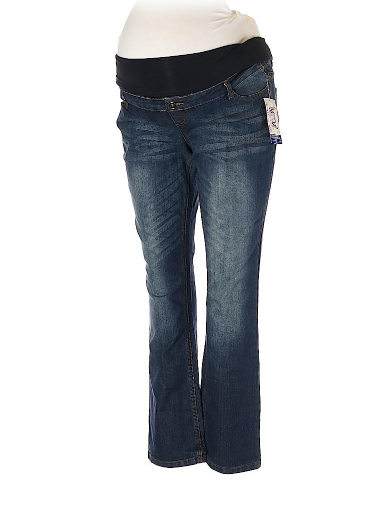 Planet Motherhood Women Jeans Size 1X (Maternity)