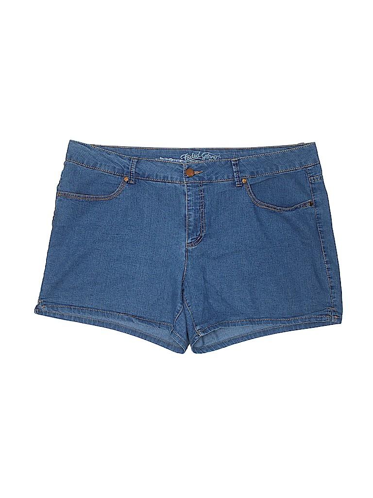 Faded Glory Women Denim Shorts Size 18 (Plus)