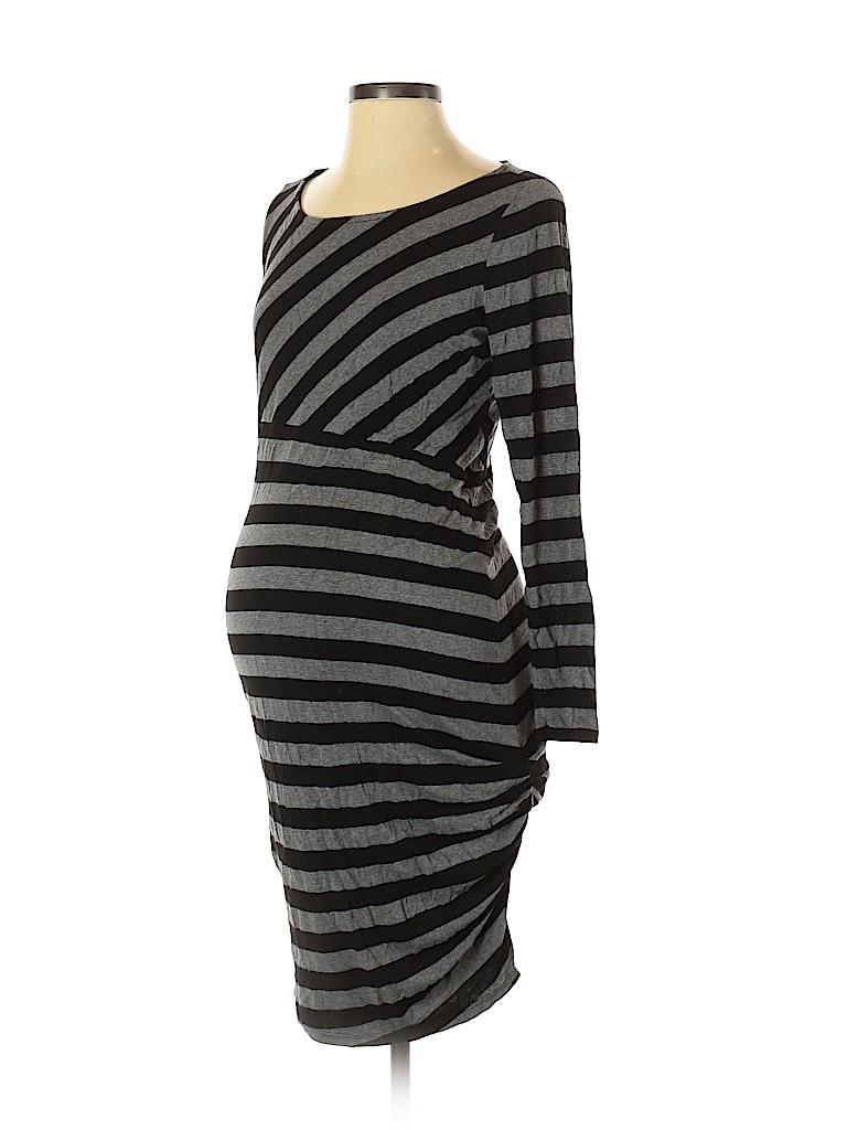 A Pea in the Pod Women Casual Dress Size L (Maternity)